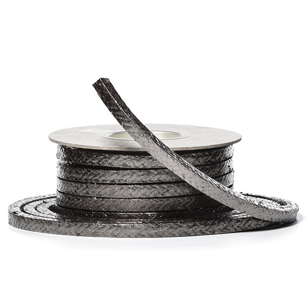 Pilotpack 4000. High purity graphite packing with inconel for high temperature valves and pumps.
